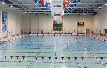 University Arena 50m Swimming Pool