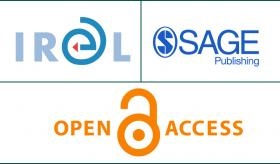 Image of the IRel, Sage Publishing and Open Access logos