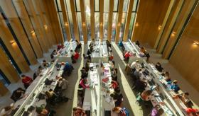 Image of Grand Reading Room in the Library