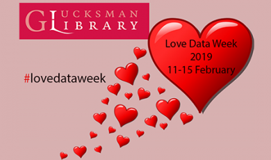 Image of hearts  to represent love your data week